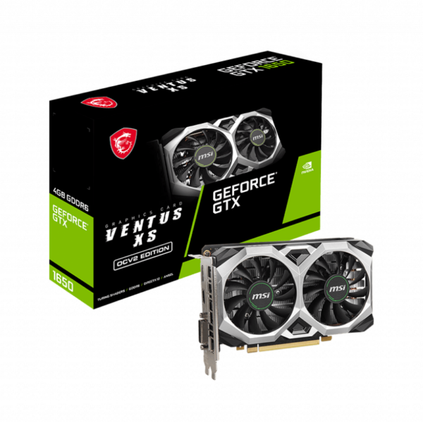 msi 1650 xs ocv2 graphics card